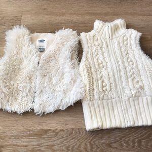 Winter vest bundle size 2T